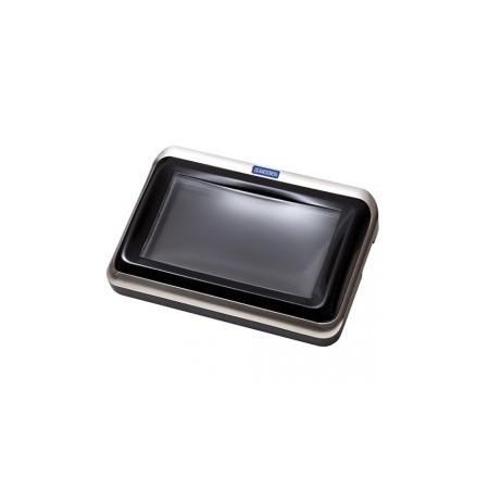 Glancetron 70-CT, Wechselgeldschale, 17,8cm (7''), silber/schwarz