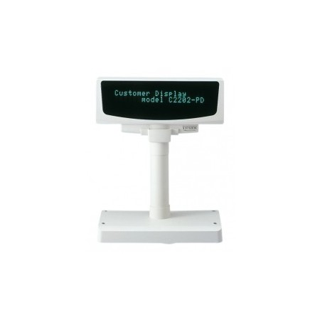 Citizen Kundendisplay C2202-PD, Kit (RS232), weiß, RS232