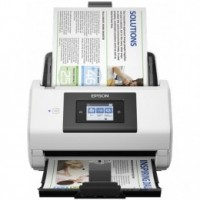 Epson WorkForce DS-780N, DIN A4, 600 x 600 dpi, 45 Seiten/Min, Display, USB, Ethernet