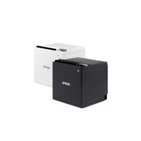 Epson TM-m30, USB, Ethernet, 8 Punkte/mm (203dpi), ePOS, weiß