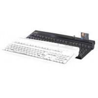PrehKeyTec MCI 3100, QWERTY, Alpha, MKL, USB, weiß
